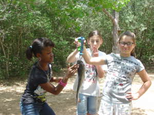 Fourth Grade Fishing Field Trip