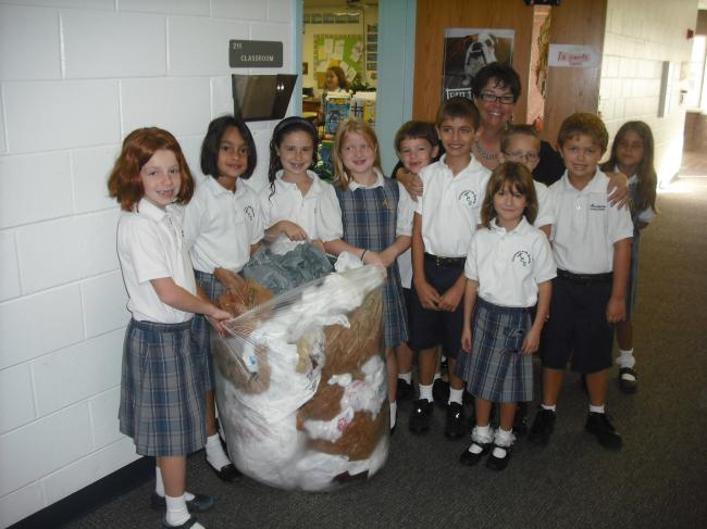 [image] America Recycles Day/2nd grade