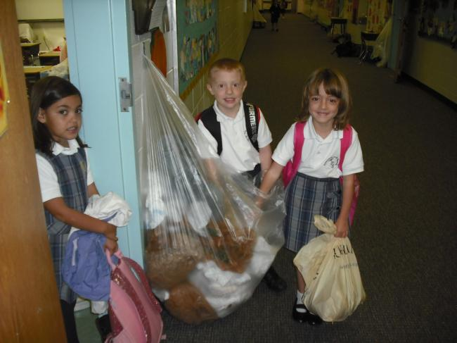 [image] America Recycles Day/1st grade