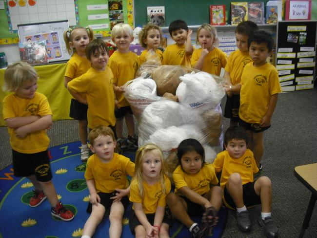[image] America Recycles Day/Pre-K3