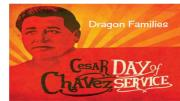 Dragon Families Cesar Chavez Day of Service